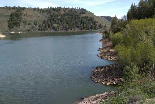 Little Wilson Creek Campground in Idaho
