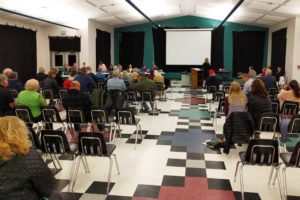 About 75 residents showed up each night for the Cat Creek Energy conditional use permit appeal hearing in Mountain Home.